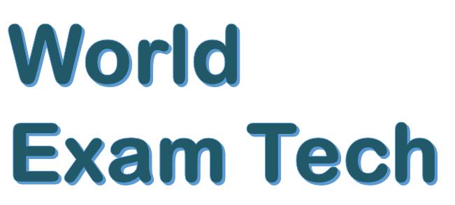 World Exam Tech logo