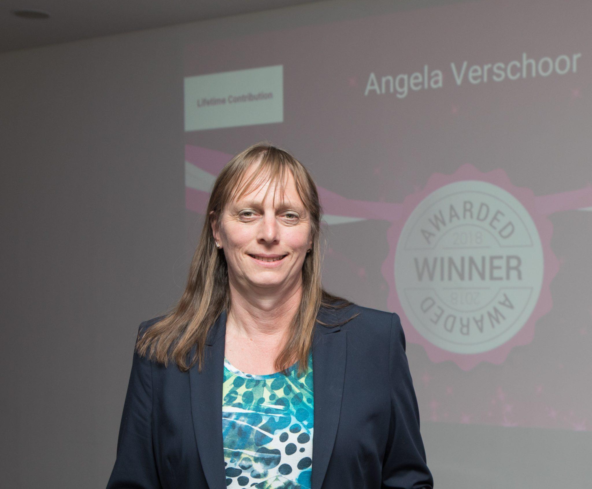 Photograph of Angela Verschoor