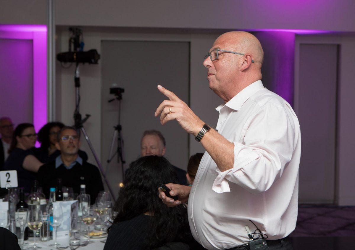Bob Harrison speaking