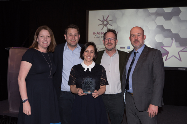 PSI Services collect the award for Best Research 2019