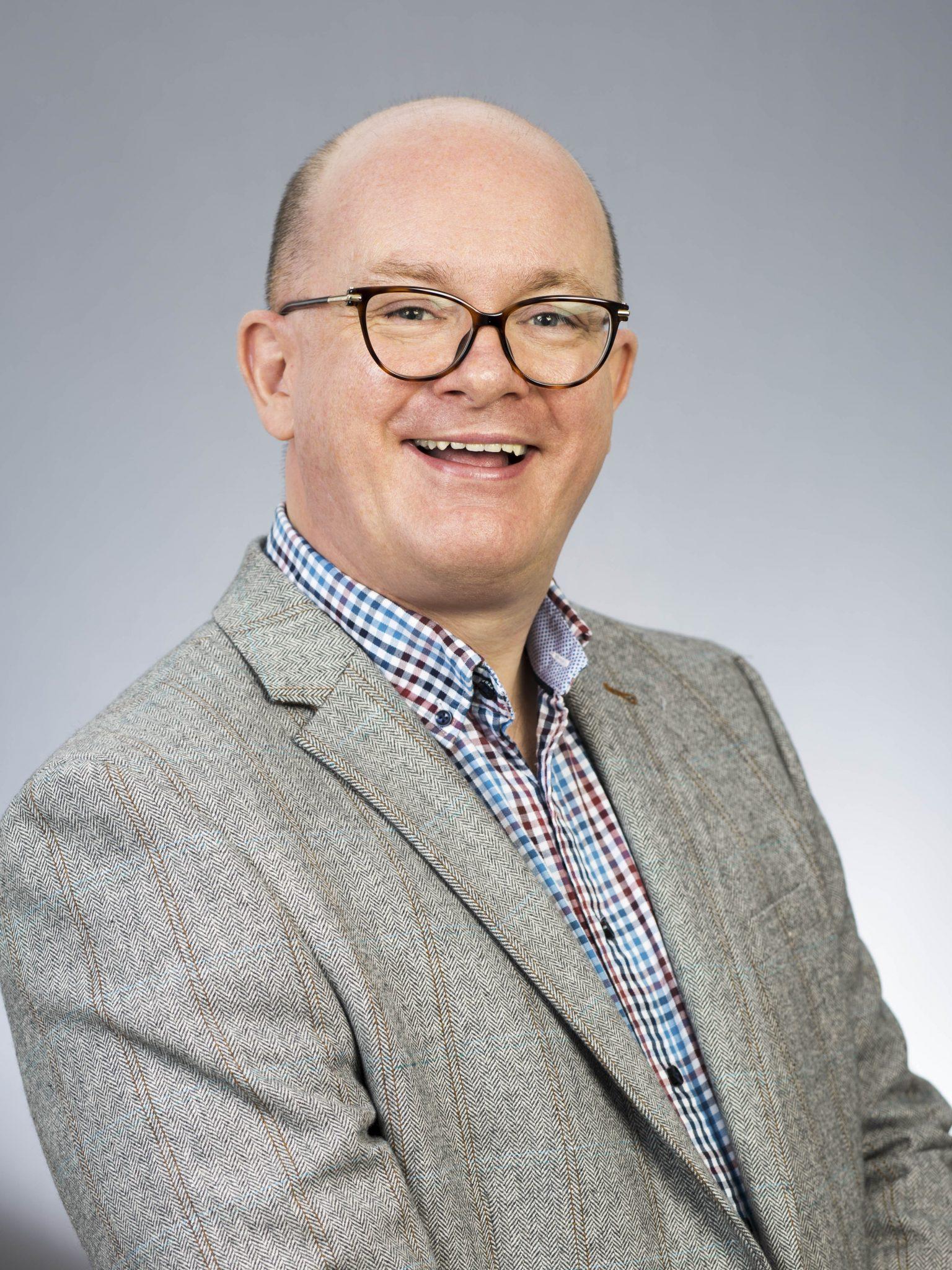 Photograph of Geoff Chapman 2021