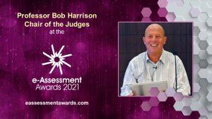 Professor Bob Harrison Chair of the Judges