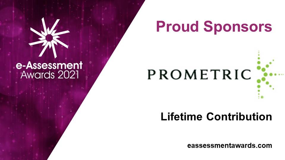 Prometric, sponsor of the 2021 e-Assessment Awards